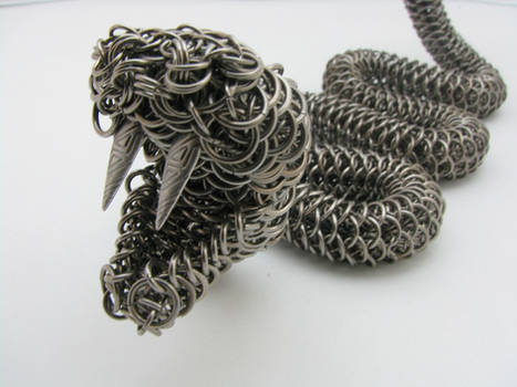 Rattler Maille Sculpture