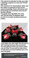 Ladybug Sculpture Tutorial