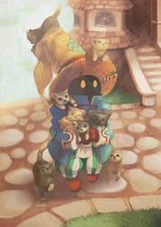 Final Fantasy IX - Vivi (also cats)