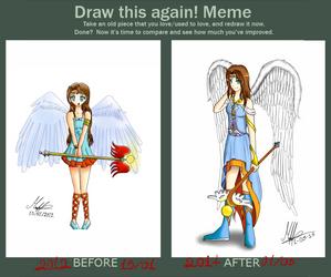 Draw this again! meme :D