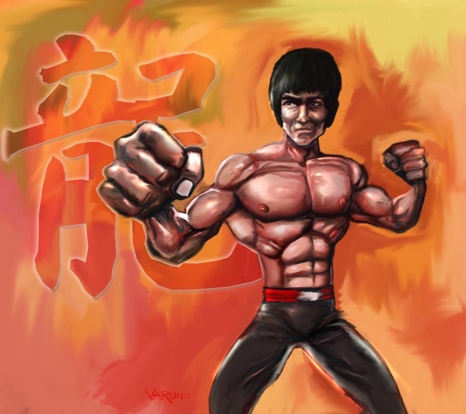 Bruce Lee by runninkool
