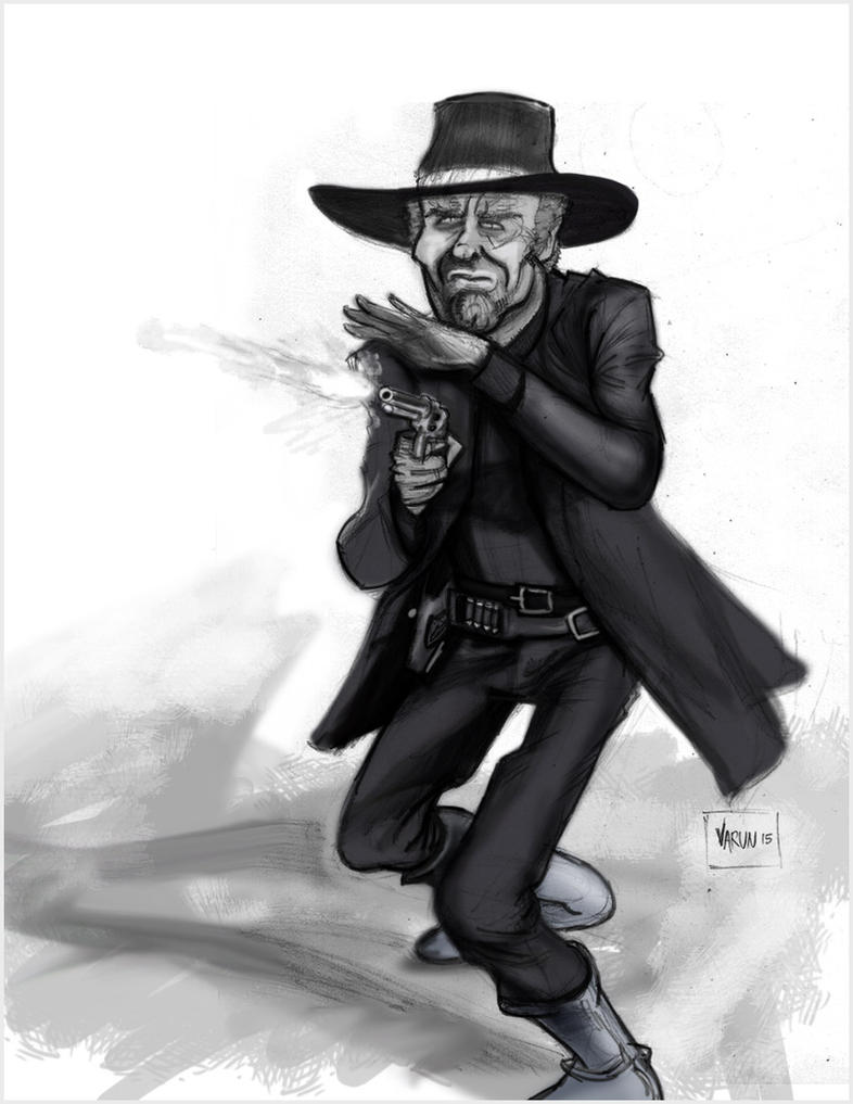 Wild West Gunman by runninkool