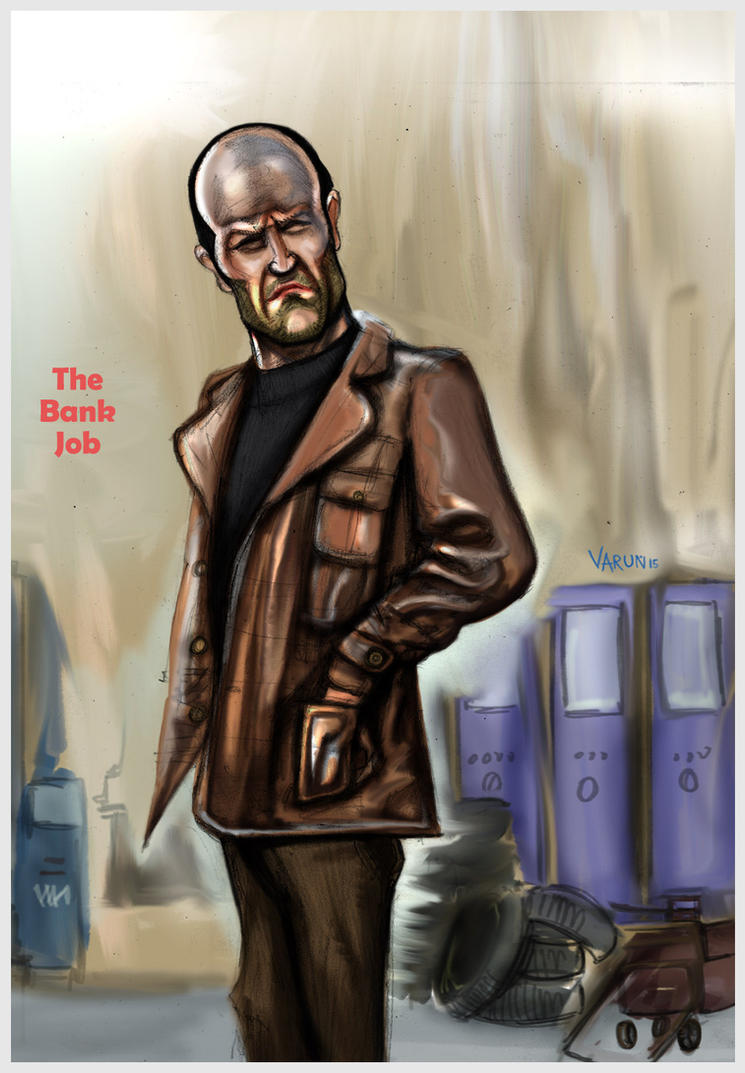 Jason Statham - The Bank Job by runninkool