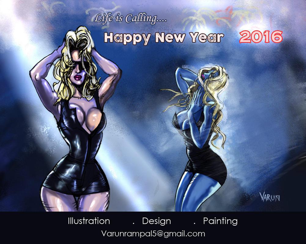 Happy New Year Everyone by runninkool