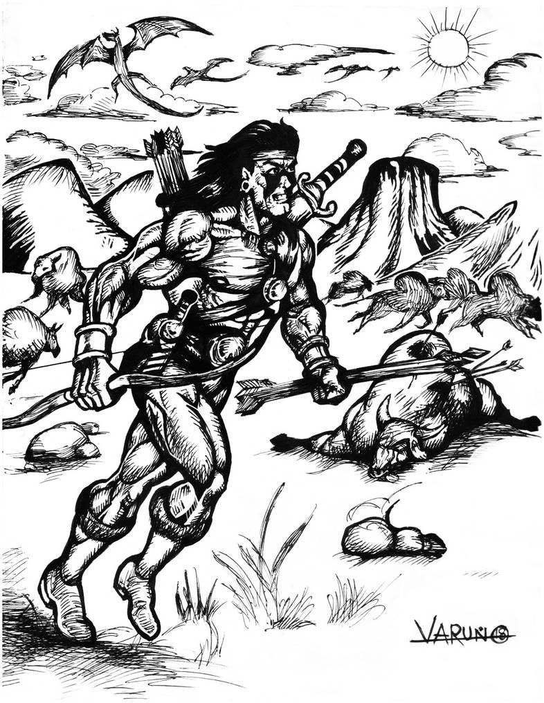 The Hunter by runninkool