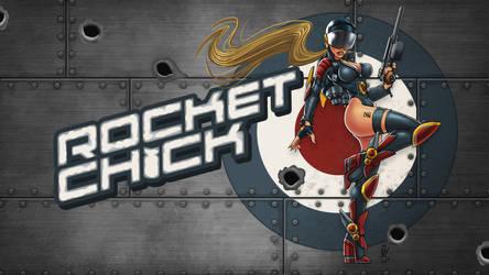 RocketChick Splashscreen