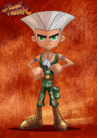 Danny Phantom_Guile by DazTibbles