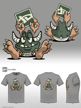 Fwuffy Tshirt Design