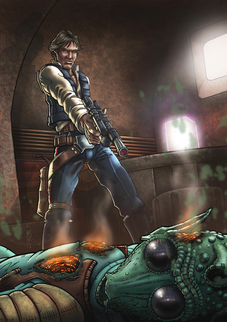 Han Shot First by DazTibbles