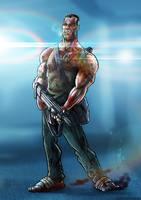 John McClane by DazTibbles