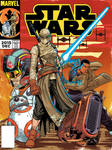 Star Wars Vintage TFA Comic Cover Issue1
