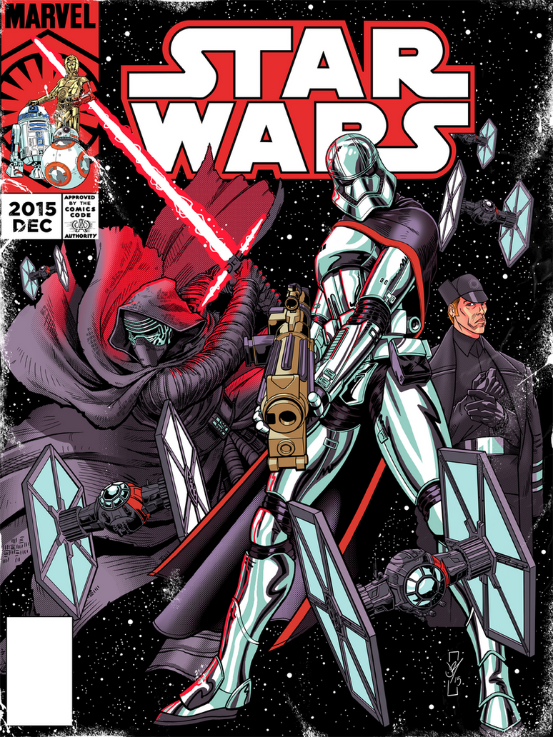 Vintage Star Wars Cover TFA Issue 2 by DazTibbles