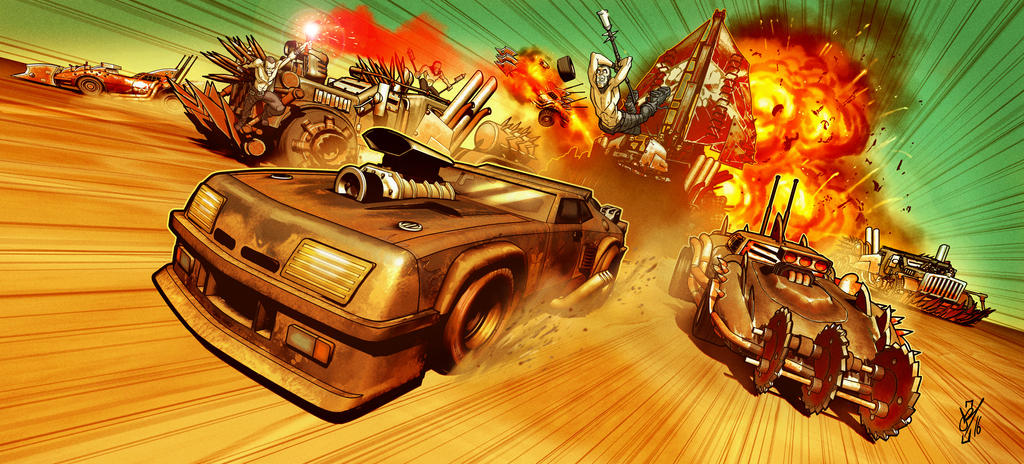 Mad Max Chase