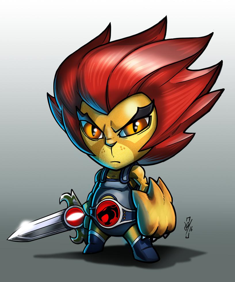 Lil Lion-O by DazTibbles