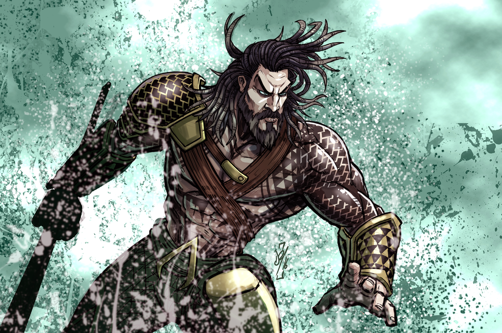 Aquaman by DazTibbles