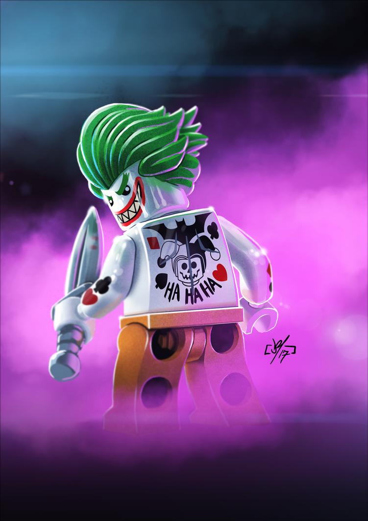 Lego Joker by DazTibbles