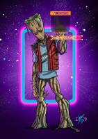 Teenage Groot by DazTibbles