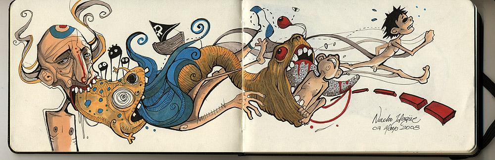 Nacho Yague´s Sketchbook - UPDATED May 15 th  2012