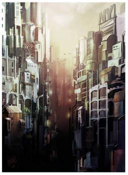 CITY  Speedpaint