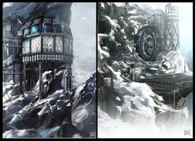 Mountain resort 2 and 3 by nachoyague