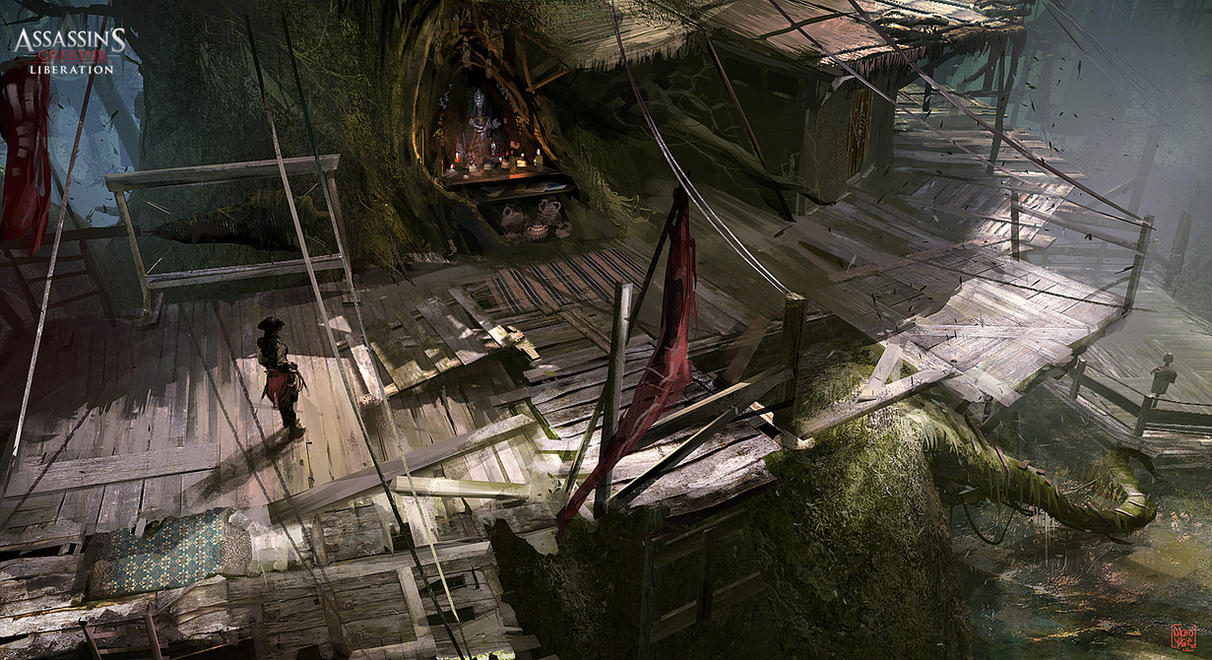 Assassin's Creed 3 : Liberation Tree Platform by nachoyague