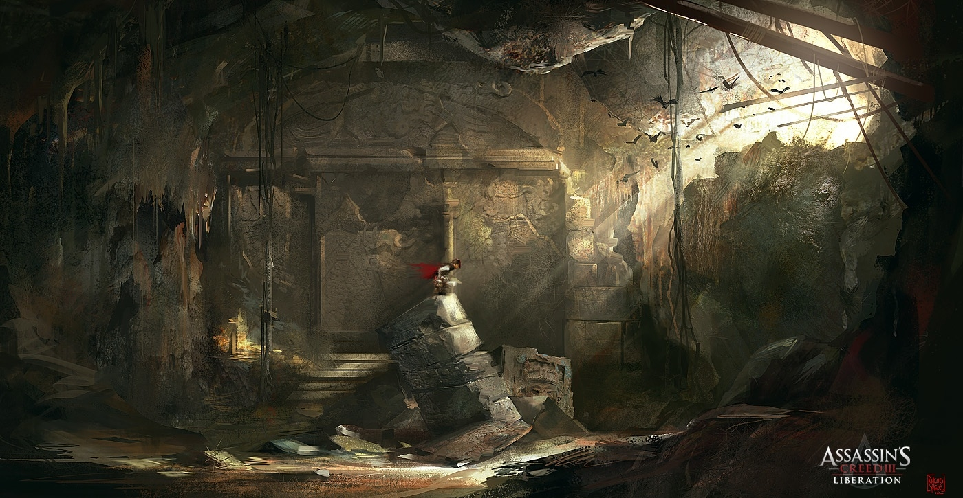 Assassin's Creed III :Liberation :Chamber by nachoyague