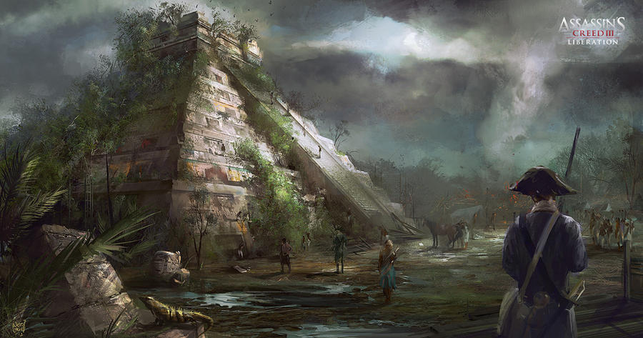 Assassin's Creed III :Liberation . Chichen Itza by nachoyague