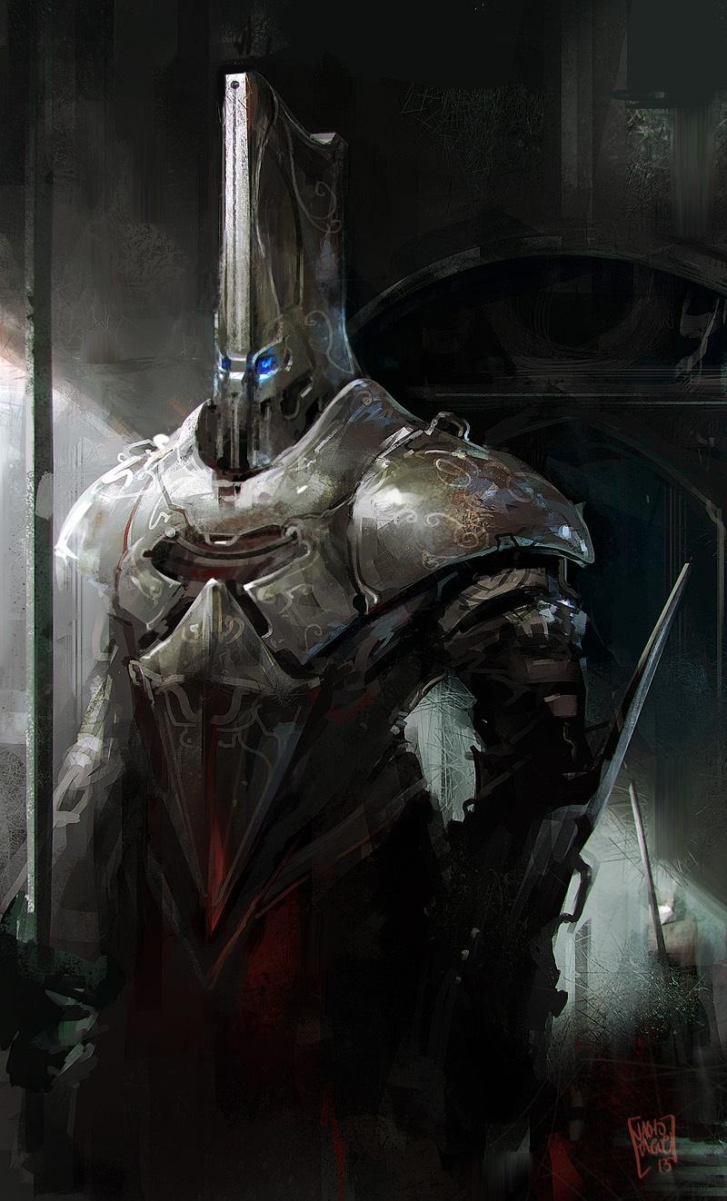 Robot Guard by nachoyague