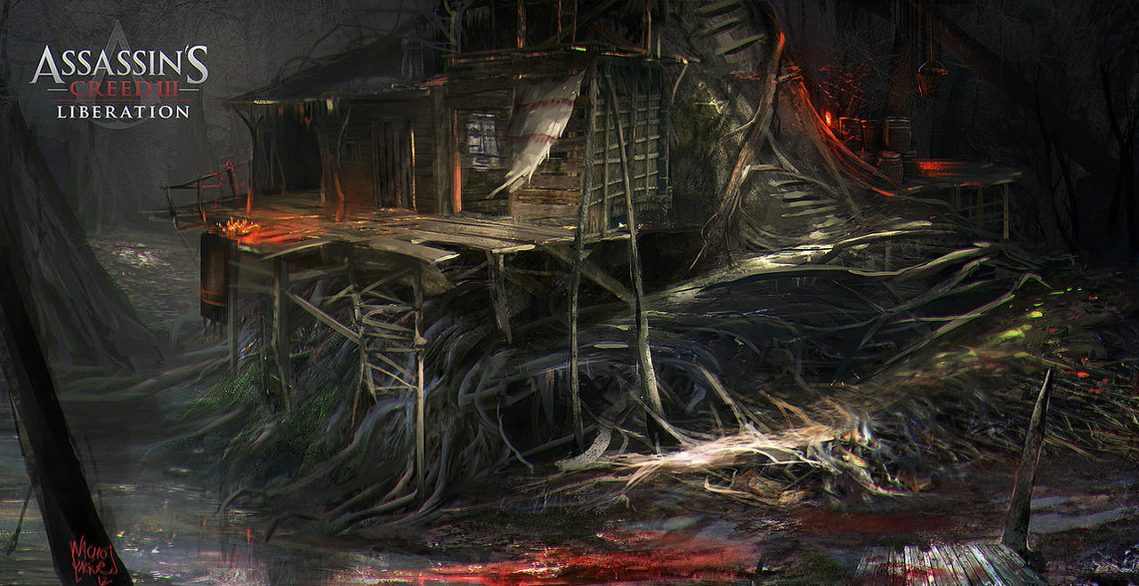 Assassin's Creed III : Liberation. Agate Hut  4 by nachoyague