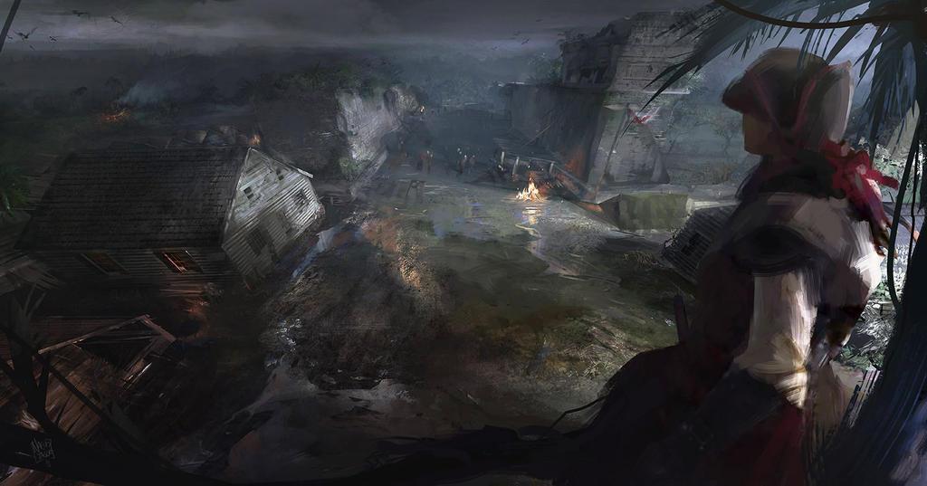 Black Flag Mayan Stones Cat Island