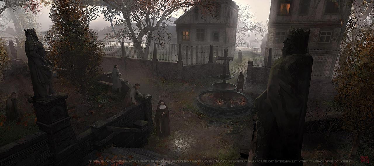 Assassins creed Unity : La Bievre asylum by nachoyague