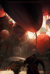 Assassins creed unity.Balloon by nachoyague