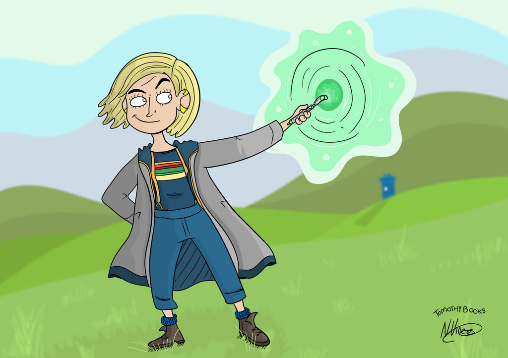 Jodie Whittaker (!3th Doctor Who) by munchai