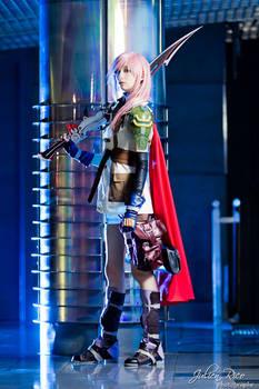 Lightning Cosplay - I will destroy it.