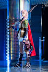 Lightning Cosplay - I will destroy it. by cyberlight