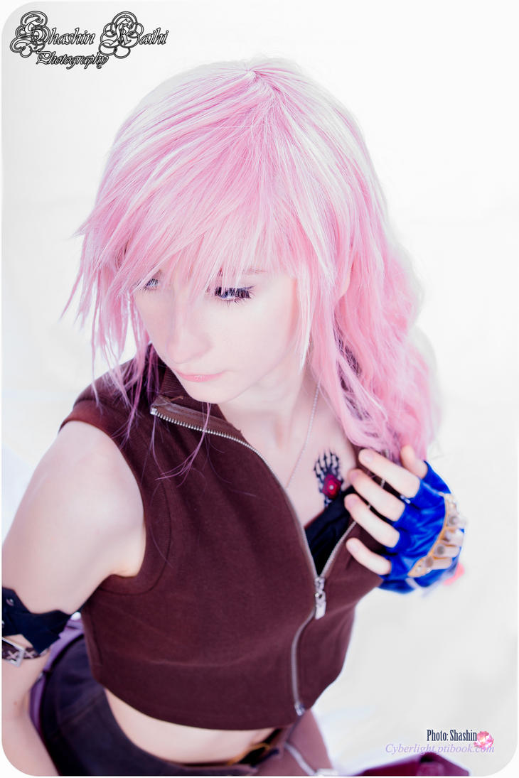 Lightning as a L'Cie. by cyberlight