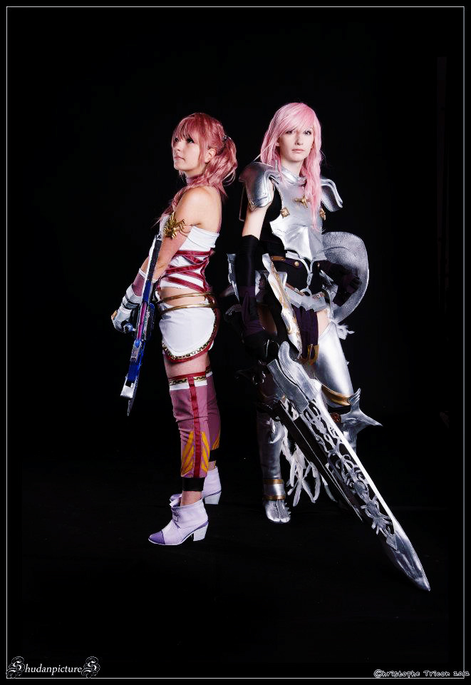 Serah and Light by cyberlight