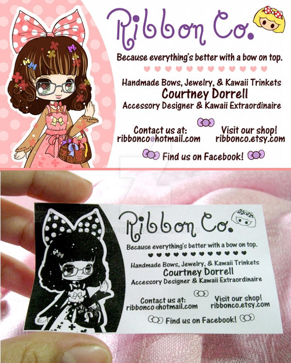Chibi business card commish by yampuff on deviantart chibi business card commish by yampuff colourmoves