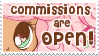 Commissions Stamp by YamPuff
