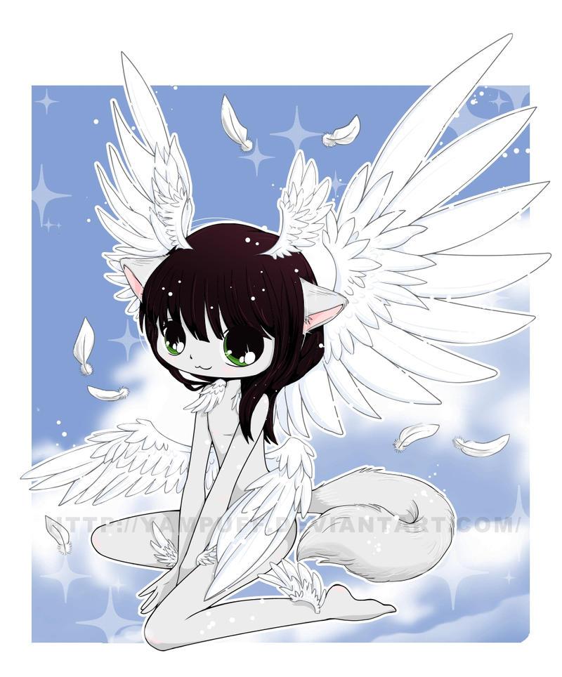 chibi angel wings - photo #8