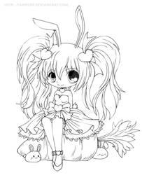 Kasumi Lineart