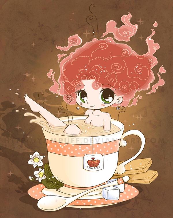 Tea Girl Commish