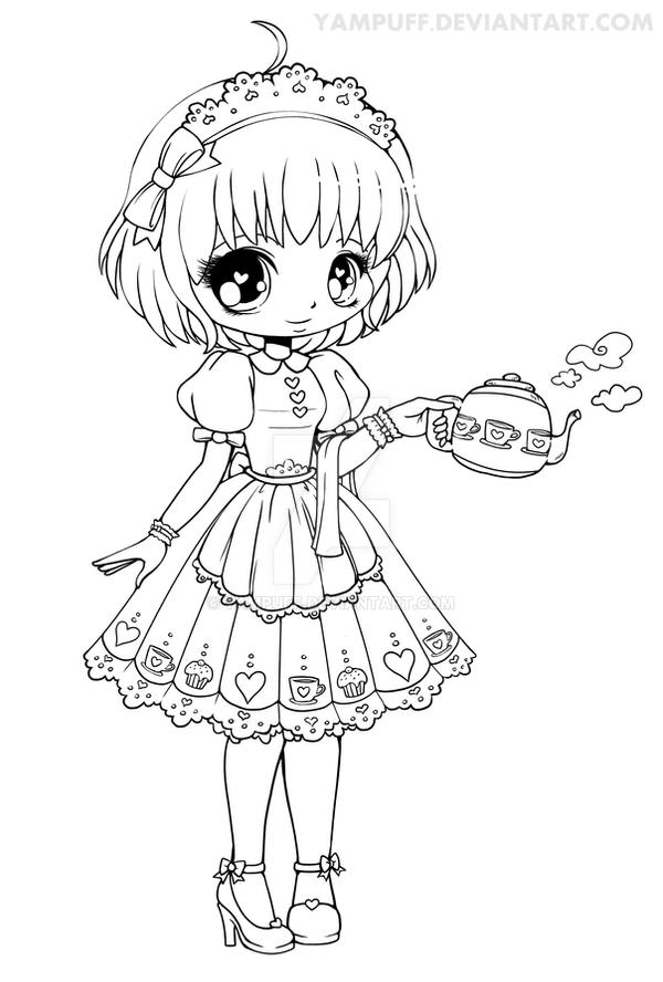 cute people coloring pages - photo#28