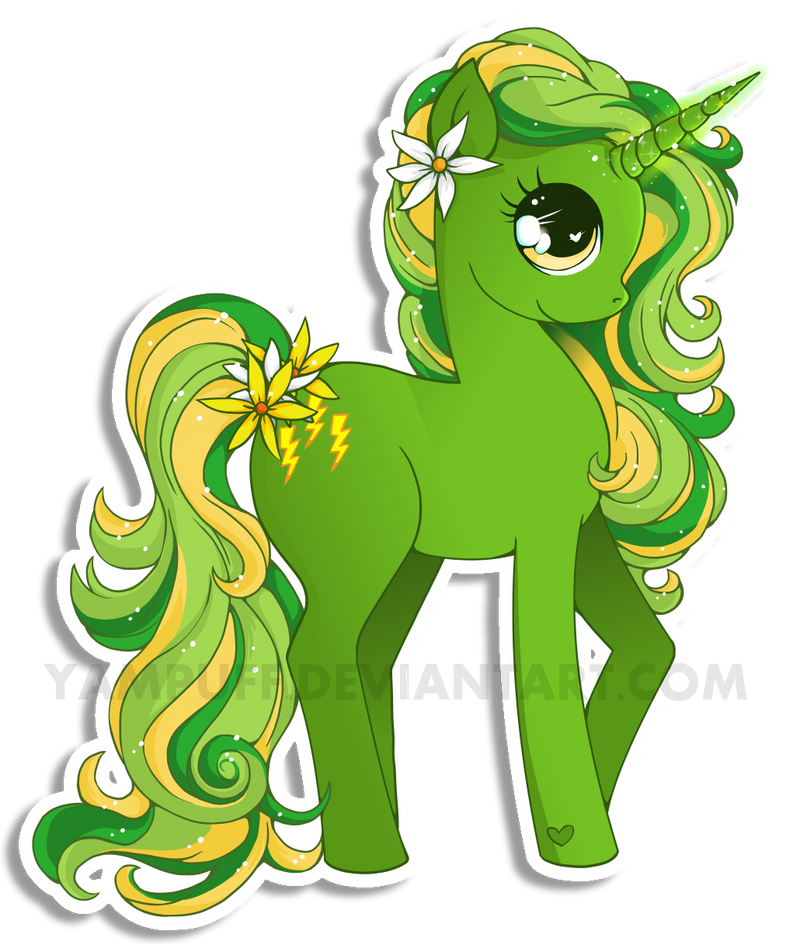 Zizzle Zazzle Pony Commission By YamPuff