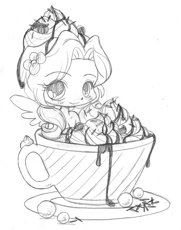 Drawing Smooth Lines With Cocos D : Hot cocoa emiko commission sketch by yampuff on deviantart