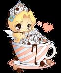 Hot Cocoa Emiko - Chibi Commission