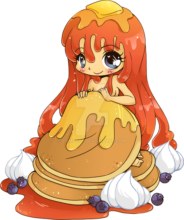 Pancake Girl by YamPuff