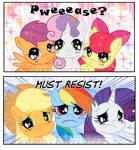 Irressistable Cutie Mark Crusaders! Comic Commish