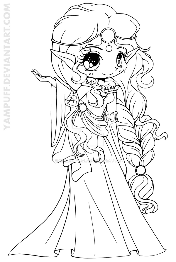 elves coloring pages images witch - photo#4