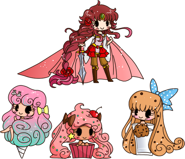 Micro Chibis By Yampuff On Deviantart